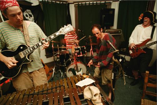 Portland's groundbreaking pirate core band Pirate Jenny was influenced by XTC